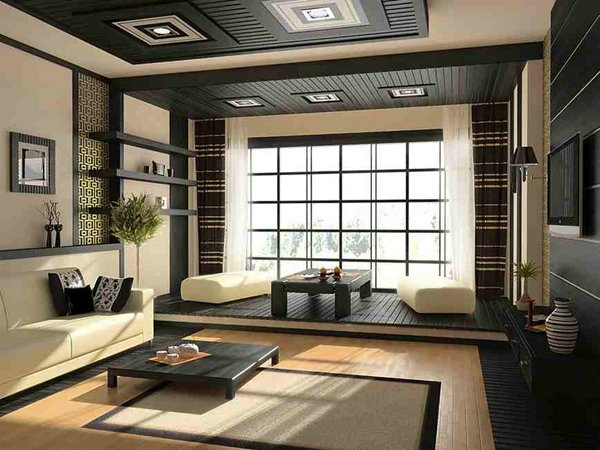 contemporary Japanese rooms