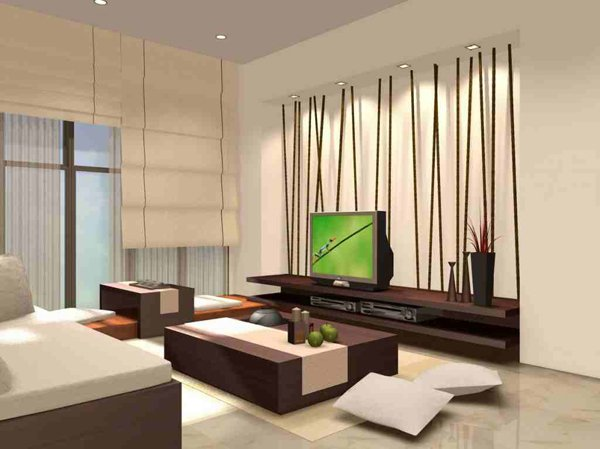17. Modern Japanese Style Living Room - 20 Japanese Home Decoration In The Living Room Home Design Lover