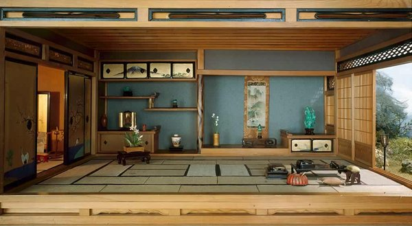 traditional Japanese living space