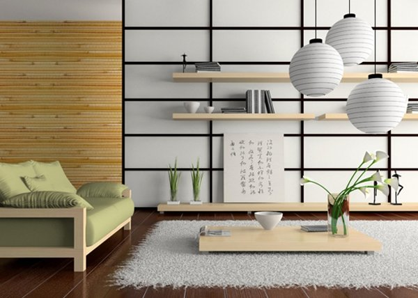 Living Room Japanese Style Zampco