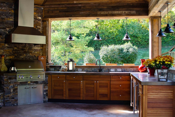 23 different outdoor kitchen cabinets home design lover. Interior Design Ideas. Home Design Ideas