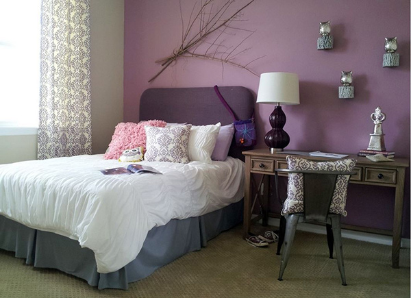 Lavender. 20 Bedroom Paint Ideas For Teenage Girls   Home Design Lover