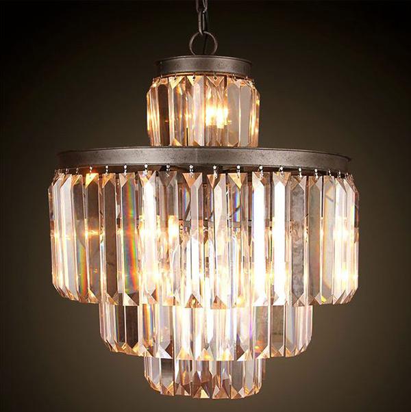 Antique Crystal Chandeliers: LOFT Antique Crystal Chandelier,Lighting