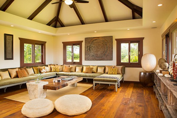 tropical modern estate. 20 Chinese Home Decoration in the Living Room   Home Design Lover
