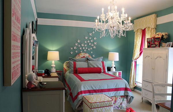 bedroom paint ideas for teenage girls  home design lover, Bedroom decor