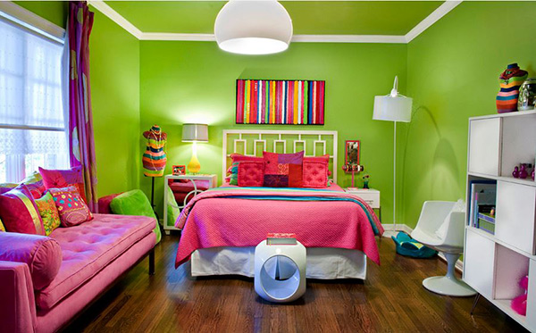 Eclectic Lime. 20 Bedroom Paint Ideas For Teenage Girls   Home Design Lover