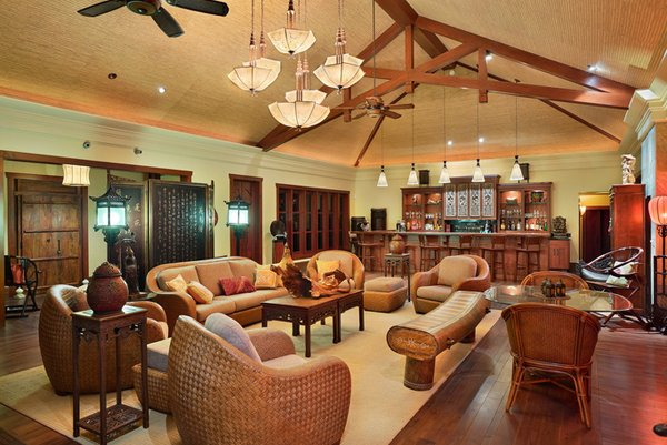 medium wood tones  Architectural Design   Construction. 20 Chinese Home Decoration in the Living Room   Home Design Lover