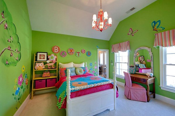 Girls Toddlers Bedroom