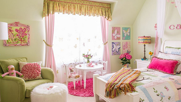 20 chic and beautiful girls bedroom ideas for toddlers home design lover - Toddler girl bedroom decorating ideas ...