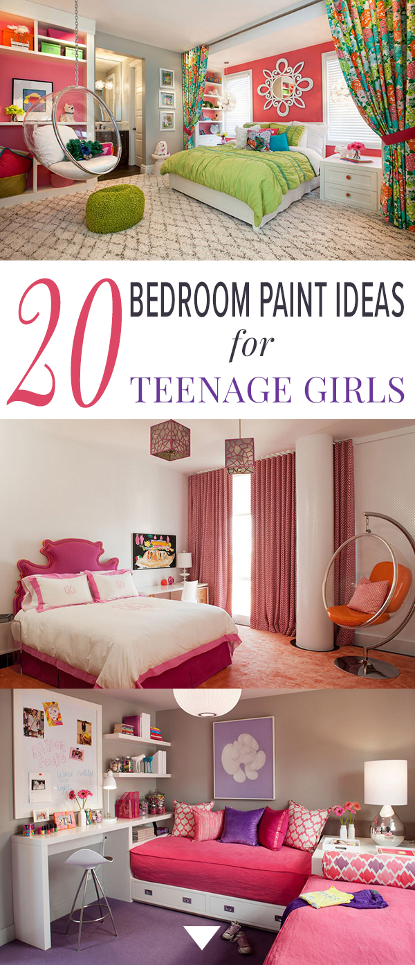 Paint For Girls Bedrooms 20 Bedroom Paint Ideas For Teenage Girls Home Design Lover