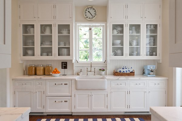 20 gorgeous glass kitchen cabinet doors home design lover