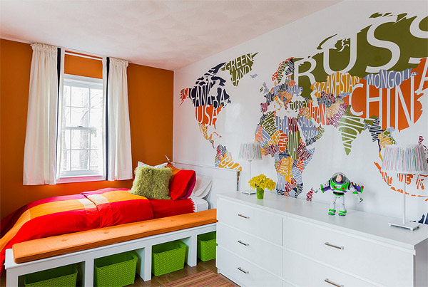 220 Cute Wall Decals and Murals for Kids Bedroom