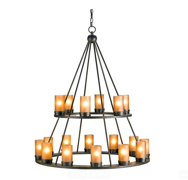 20 Lovely Outdoor Candle Chandeliers – Candle Chandelier Outdoor