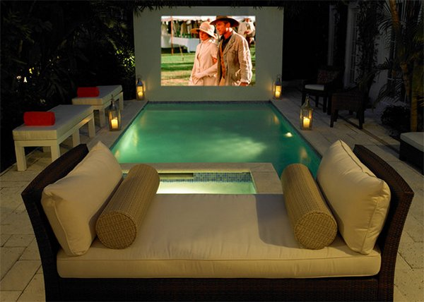 romantic residential pools