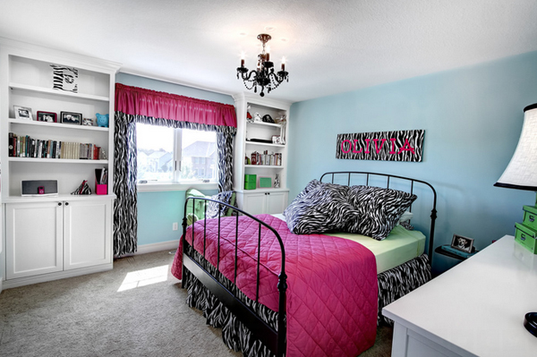 United States. 20 Gorgeous Pink and Black Accented Bedrooms   Home Design Lover