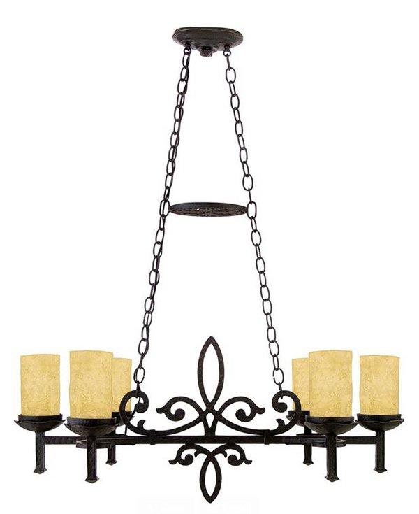 Renaissance Faux Candle ChandelierLa