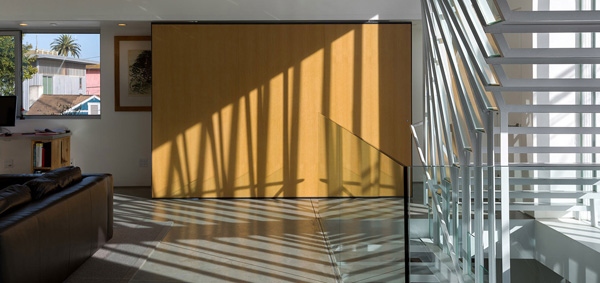 glass frame staircase