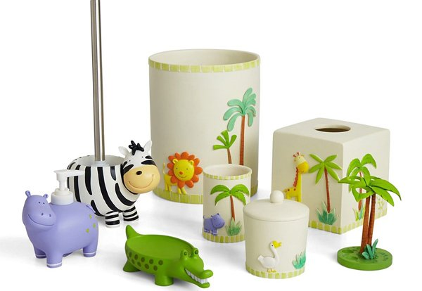 kids bathroom accessories for girls  home design lover, Bathroom decor