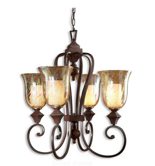 Elba 4-Light Candle Chandelier