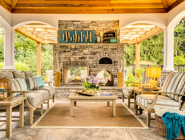 beach themed porch designs