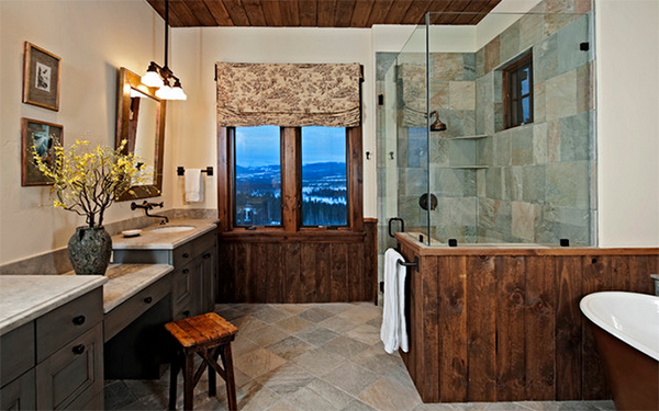 Colorado Retreat home bath