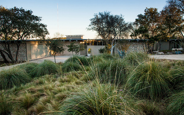 mid century modern now email save photo mexican feather grass robert leeper landscapes - Mid Century Modern Landscape Design Ideas