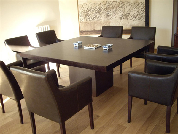 20 Splendid Square Oak Dining Room TablesHome Design Lover
