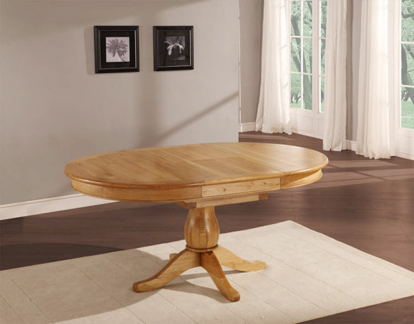 oval extending - Oval Dining Room