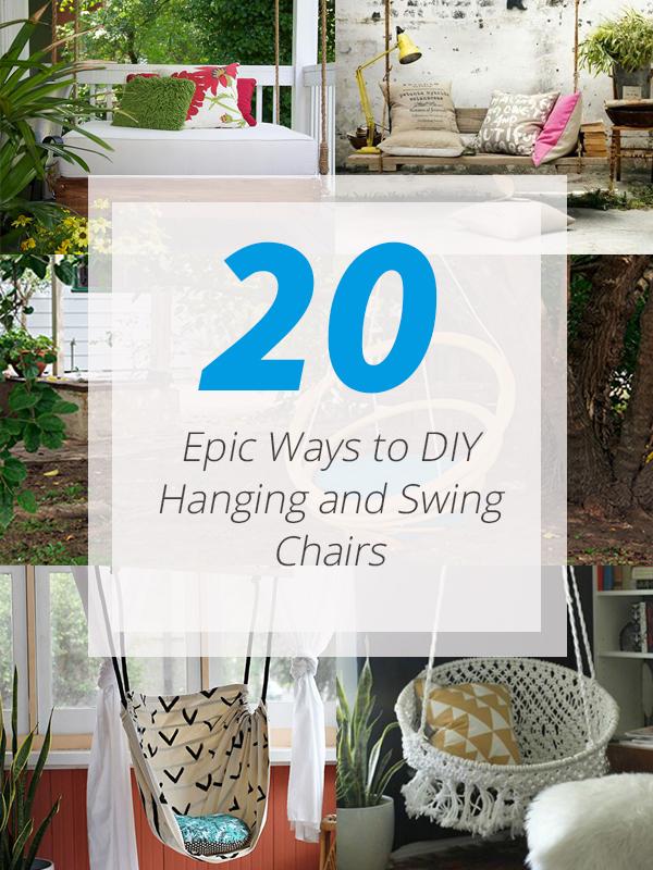 diy swing chairs