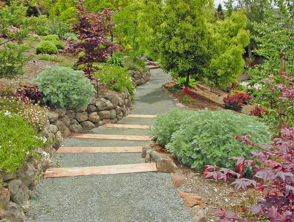 decorative ideas of landscaping with gravel  home design lover, decorative gravel landscaping ideas, gravel driveway landscaping ideas, gravel front yard landscaping ideas
