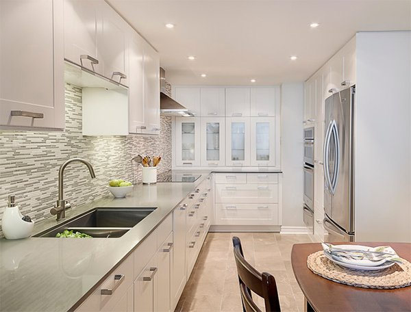 Awesome 20 Dashing And Streamlined Modern Condo Kitchen Designs Home Largest Home Design Picture Inspirations Pitcheantrous