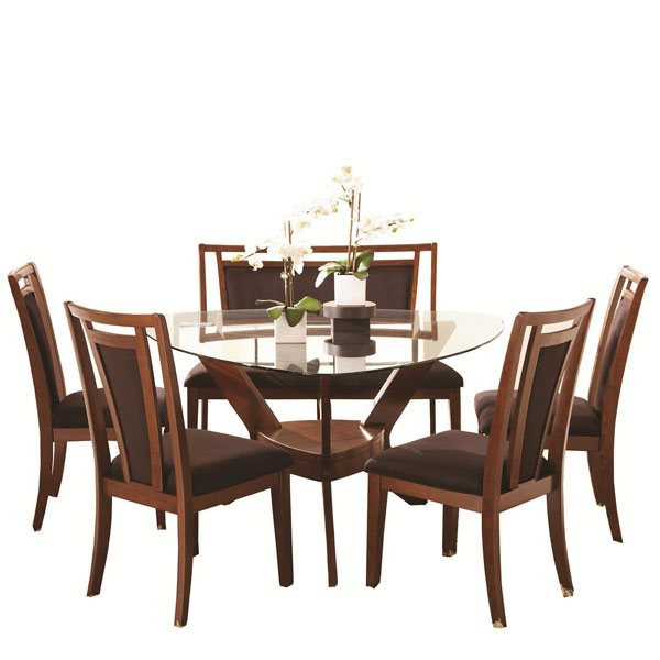 20 softly shaped curves of triangular dining tables home design lover - Triangle dining table ...