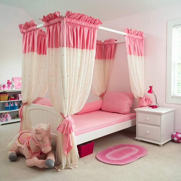 Bed Curtains canopy bed curtains for kids : 20 Whimsical Girls Full Canopy Beds Fit for a Princess | Home ...
