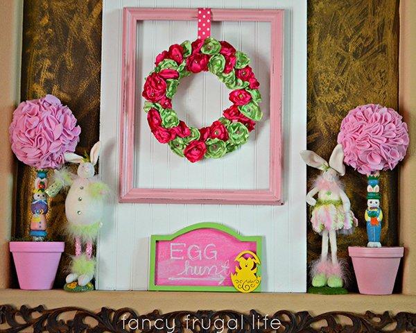 20 Vibrant DIY Easter Themed Mantel Designs – Easter Mantel Decorations