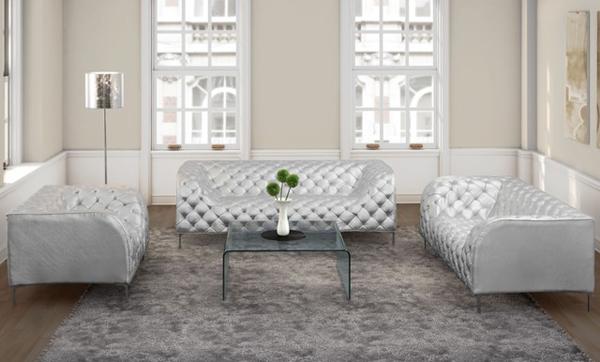20 Modern Leather Living Room Furniture | Home Design Lover