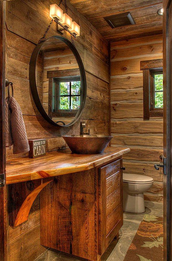 round mirror Vanity Furniture