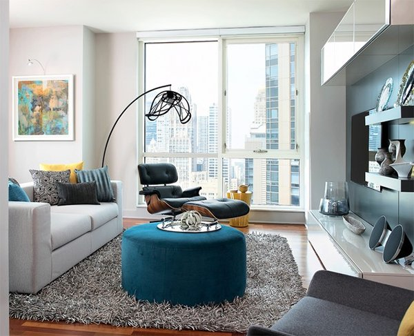 colorful throw pillows - Condo Design Ideas