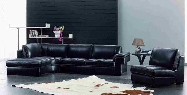 black armchair. Modern Manhattan Furniture - 20 Modern Leather Living Room Furniture Home Design Lover