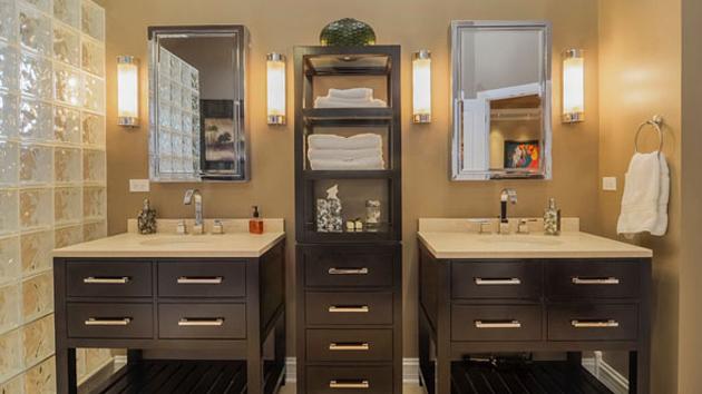 20 Clever Designs of Bathroom Linen CabinetsHome Design Lover
