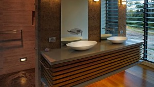 wooden cabinets bath