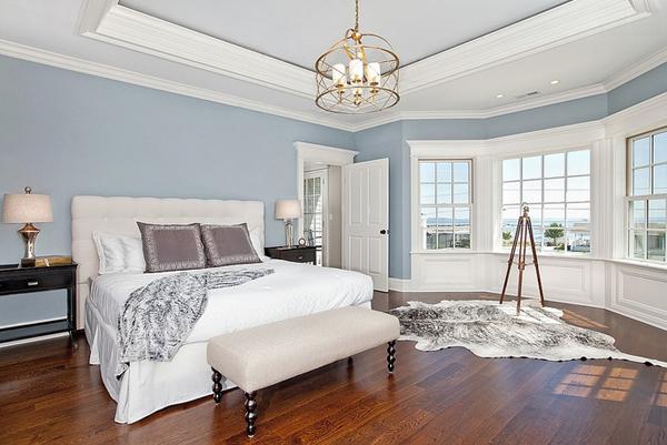 wooden floor bedroom
