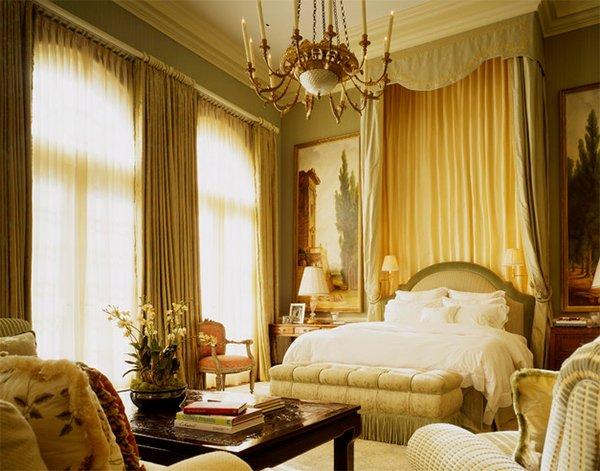luxury gold bedroom