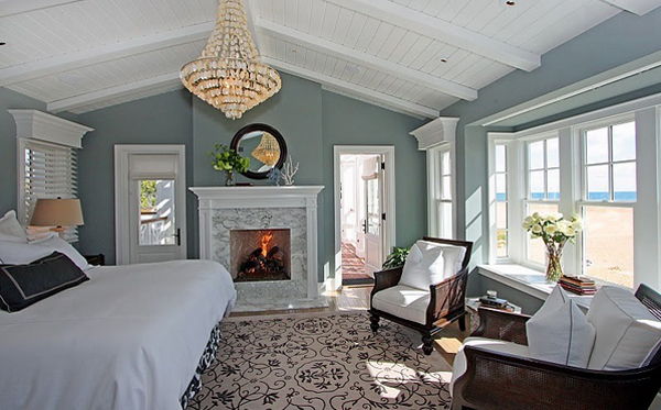 fireplace bedroom