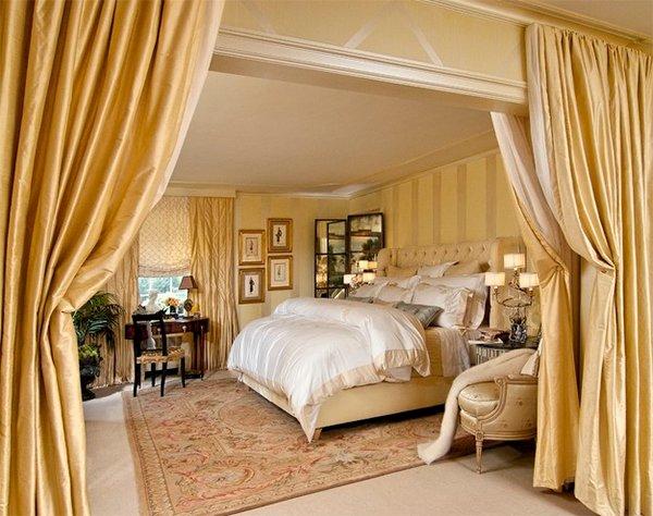 gold bed design