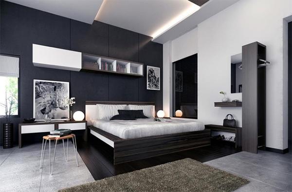 Modern Enterier Grey Color