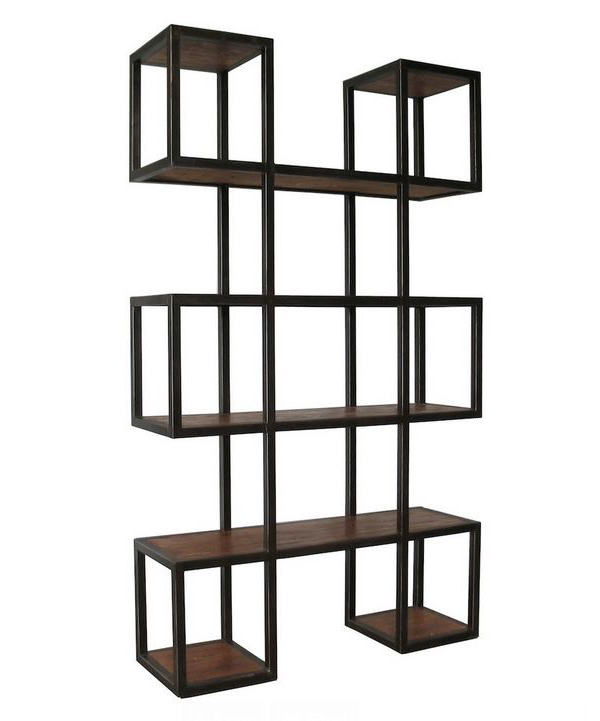 Geometric Modern Bookcase