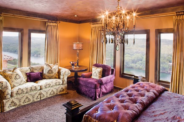 20 Pleasant Purple and Gold BedroomsHome Design Lover