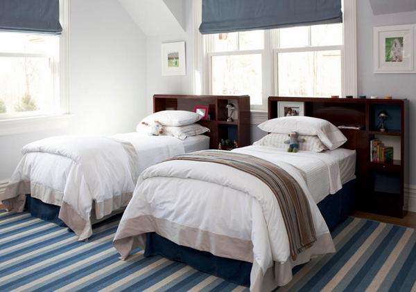 blue stripe carpet
