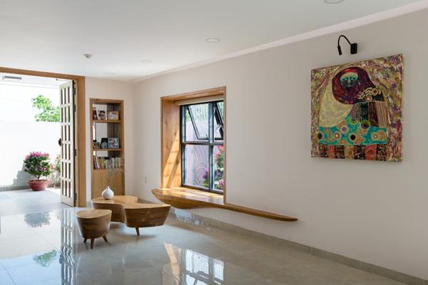 wooden window panel