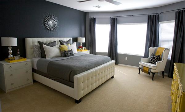 Michelle's Grey Master Bedroom
